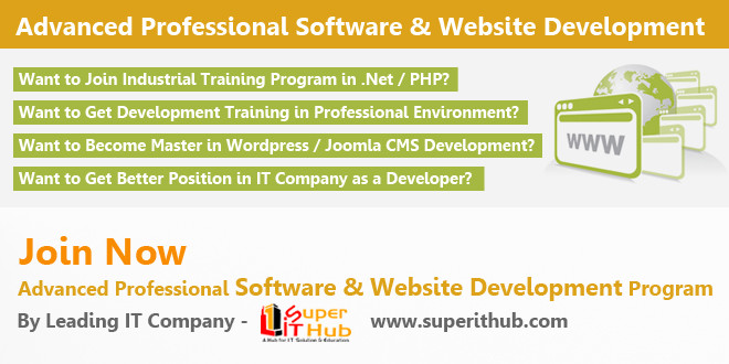 Advanced Professional Software & Website Development Training