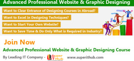 Advanced Professional Graphic & Website Designing Training